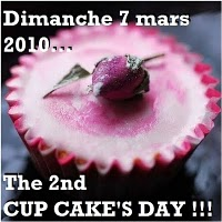 Cup cake day 7 mars