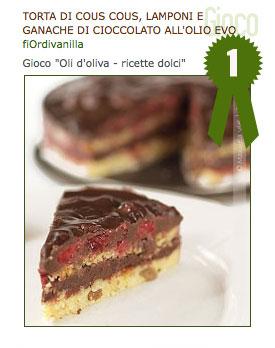 #2 – Oli d'oliva – ricette dolci : i risultati – Huile d'olive – recettes sucrées : les résultats