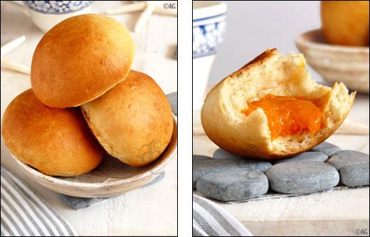pains au lait et orgeat