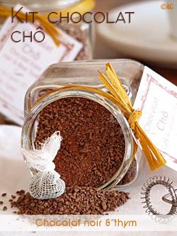 Cadeau gourmand pour amateur de chocolat chaud