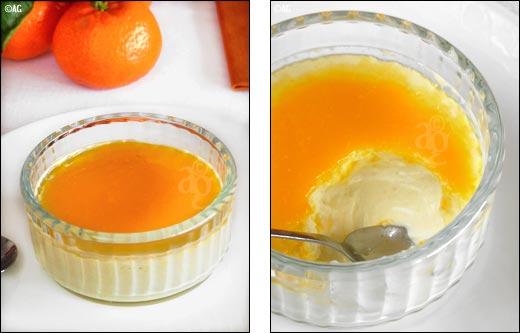 creme au citron, mascarpone et clémentines