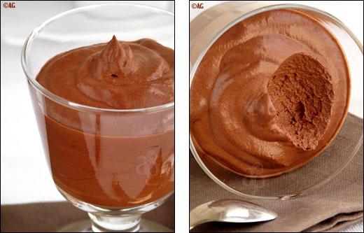 mousse de chocolat à la fève tonka