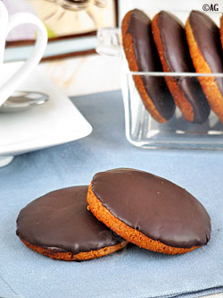 granola au chocolat noir