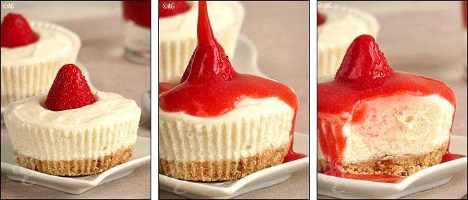 Alter Gusto | Cheesecake sans cuisson au chocolat blanc ...