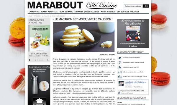 Coté cuisine Marabout