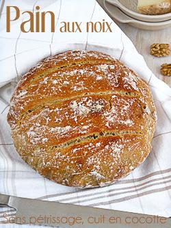 Pain sans pétrissage, cuit en cocotte – Fête du pain