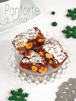Panforte di Siena – Gâteau de Noël Italien