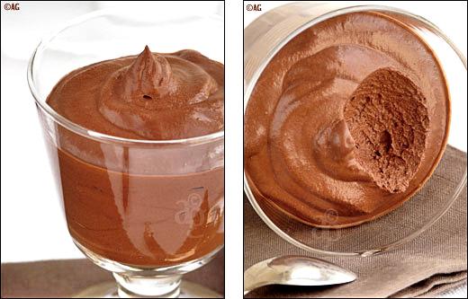 Mousse de chocolat – 2 ingrédients & 5 minutes de préparation !