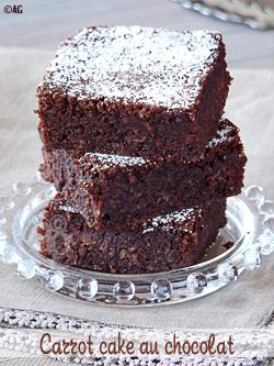 carrot cake au chocolat