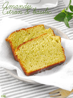 Cake aux amandes, citron & basilic ou Cake à la banane & cardamome ?