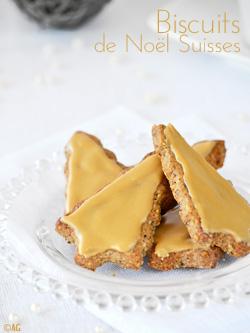 Biscuits de Noël Suisses aux noix – Baumnuss-Guetzli