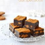 Fudge au chocolat noir & spéculoos