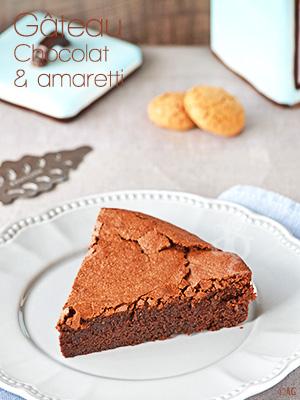 Gâteau au chocolat & amaretti - Alter Gusto