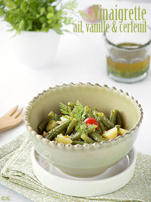 Salade de pommes de terre, haricots verts & noix de cajou – Avec une vinaigrette spéciale pour Philou…