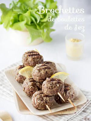 Brochettes de boulettes & Coup de cœur pour le livre Les recettes du Camion à Boulettes de Jez Felwick
