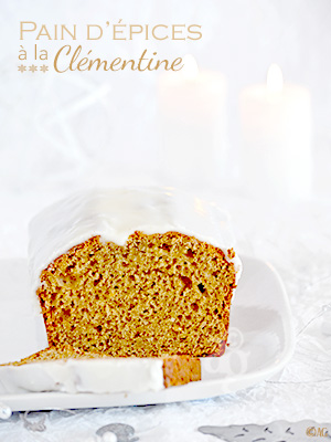 Pain d'épice à la clémentine