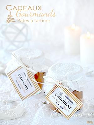 Cadeaux gourmands #2 – Sauce caramel à la clémentine – Pâte à tartiner au chocolat au lait & thym