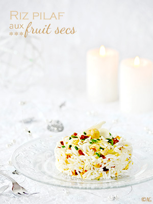 Riz pilaf aux fruits secs
