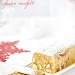 Pâte d'amande au miel & fruits secs façon nougat