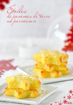 Étoiles de pommes de terre au parmesan & idées d'accompagnement pour les fêtes