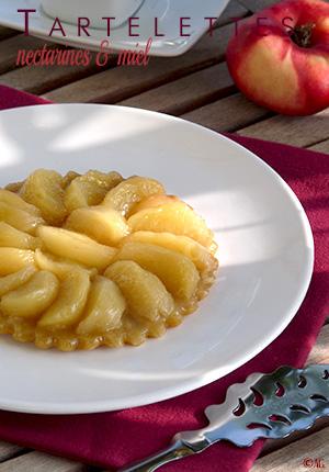 Pâte sucrée au mascarpone, huile d'olive & romarin pour le 3e défi de Chef Damien – Tartelettes aux nectarines plates