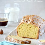 Cake au lait concentré, citron & huile d'olive