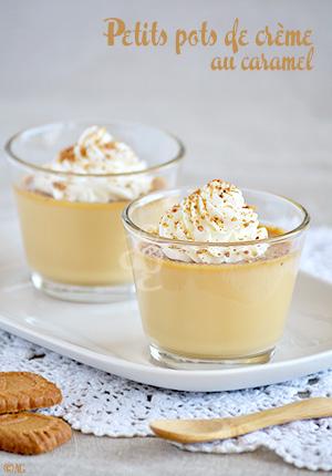 Petits pots de crème au caramel