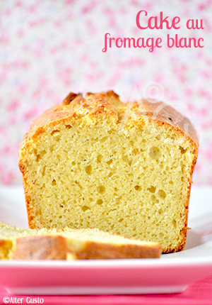 Cake au fromage blanc Alter Gusto
