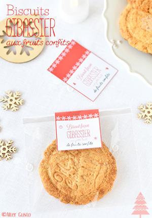 Biscuits rustiques façon gibassier, aux fruits confits Alter Gusto