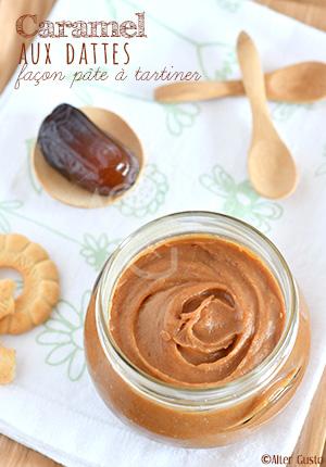 Caramel aux dattes façon pâte à tartiner