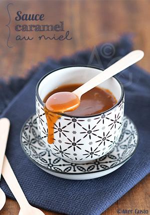 Sauce caramel au miel (version express)