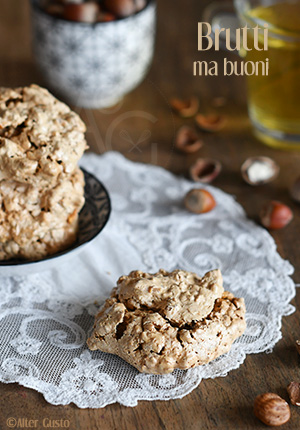 Brutti ma buoni – biscuits italiens aux noisettes