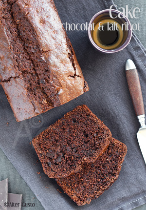 Cake au chocolat & lait ribot