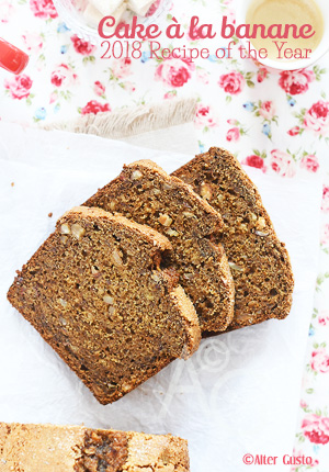 Cake à la banane – Whole-Grain Banana Bread