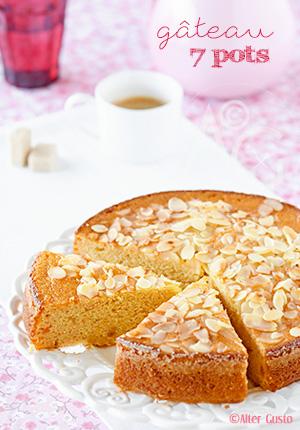 Gâteau 7 pots