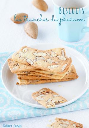 Biscuits italiens aux amandes – Les tranches du pharaon
