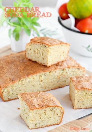 Cheddar soda bread – pain rapide au cheddar