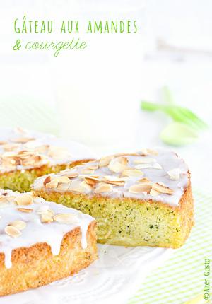 Gâteau aux amandes & courgette