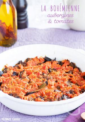 La bohémienne selon guy gedda – aubergines & tomates