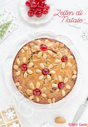 Gâteau de noël aux fruits secs & rhum