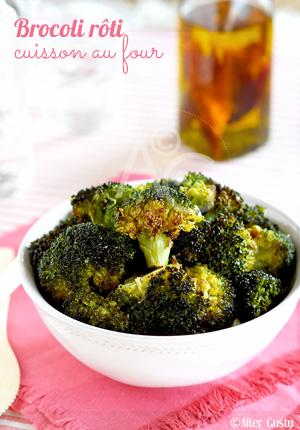 Brocoli rôti – Cuisson au four
