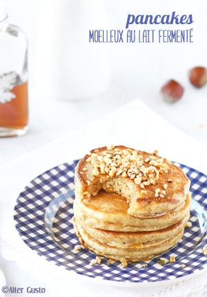 Pancakes moelleux au lait fermenté