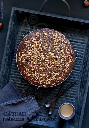 Gâteau aux noisettes & courgette