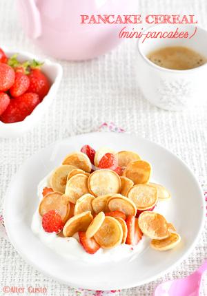 Pancake cereal – Mini pancakes