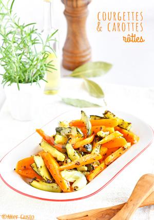 Courgettes et carottes rôties – Méthode de cuisson au four