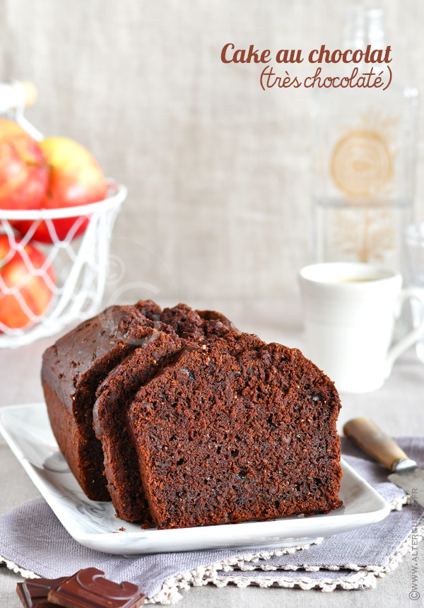 Cake au chocolat (très chocolaté)